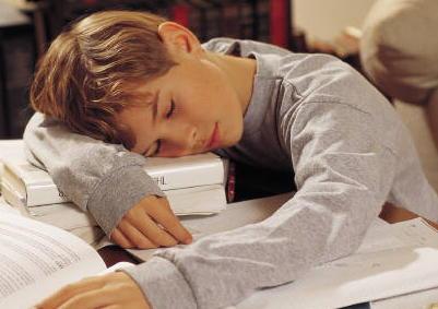 Miért fáradt a gyermeked a nulladik órán?