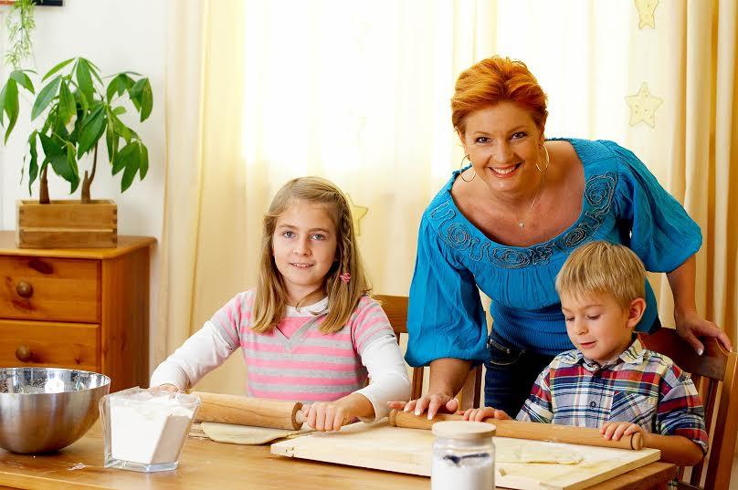 Hogyan állítja össze Keleti Andrea a családja étrendjét?