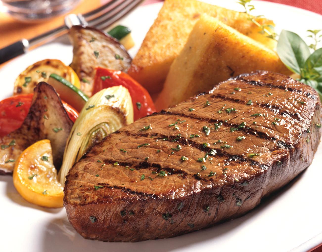 Hátszín steak recept