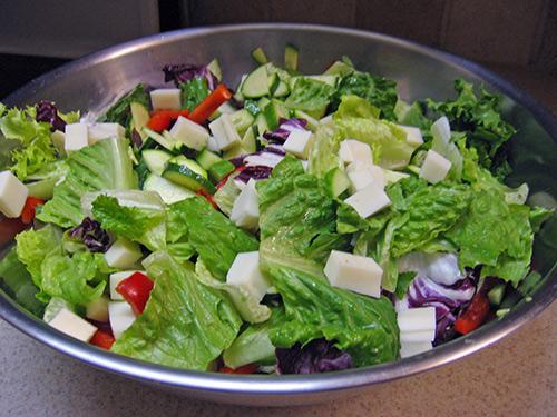 Tavaszi vitamin saláta